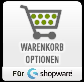 Warenkorb Optionen für Shopware 4 und 5