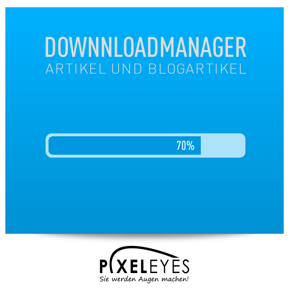 Download Manager für Artikel und Blogartikel