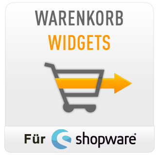 Warenkorb Widgets