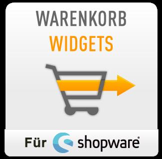 Warenkorb Widgets