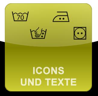 Icons und Texte für Veyton