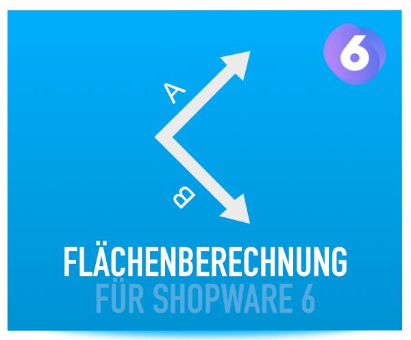 Flächenberechnung für Shopware 6