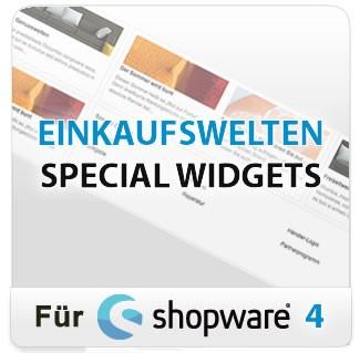 EInkaufswelten Special Widgets