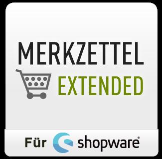Merkzettel Extended für Shopware 4