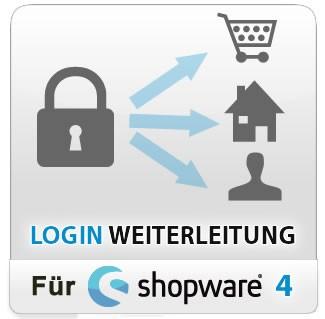 Login Weiterleitung für Shopware