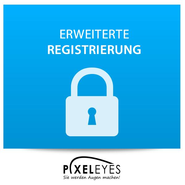 Erweiterte Registrierung